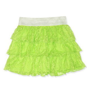 Little's Green Tiered Skirt