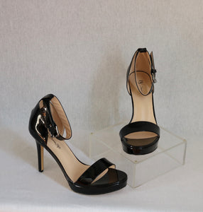 Patent Leather Classic Ankle Strap