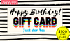 Happy Birthday! Gift Card $100 -  TopCats.Store™ - TopCats.Store