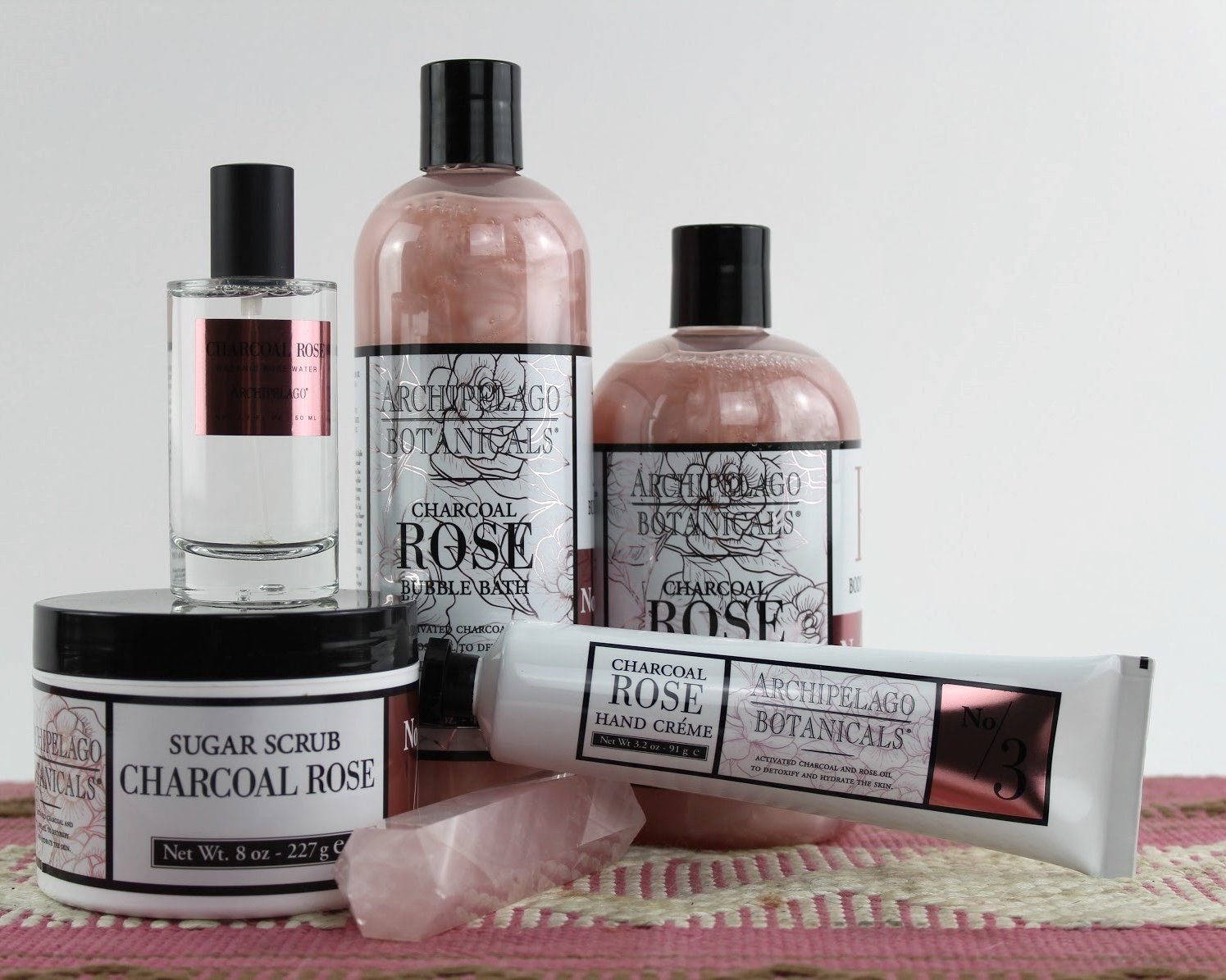 Charcoal Rose Hand Cream-SproutSouth-Skin Care
