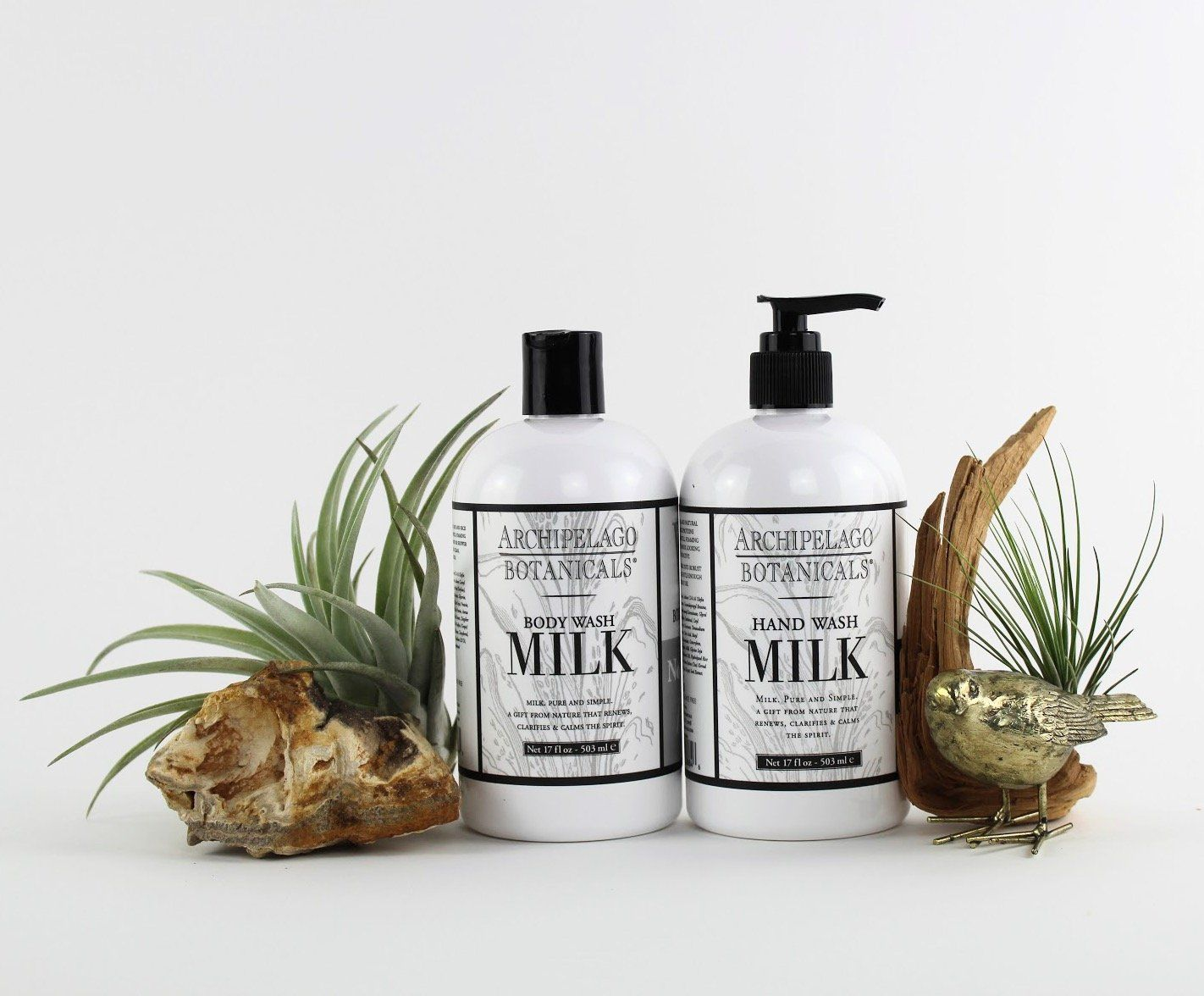Charcoal Rose & Milk Body Wash-SproutSouth-Skin Care