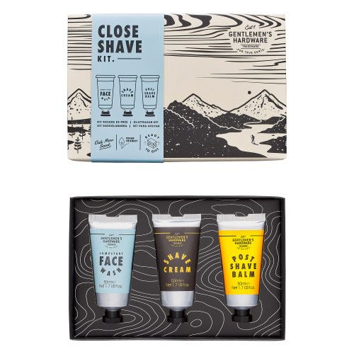 Close Shave Beard Kit-SproutSouth-Skin Care