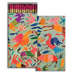 Colorful Garden Birds Pink Matchbox Matches SproutSouth