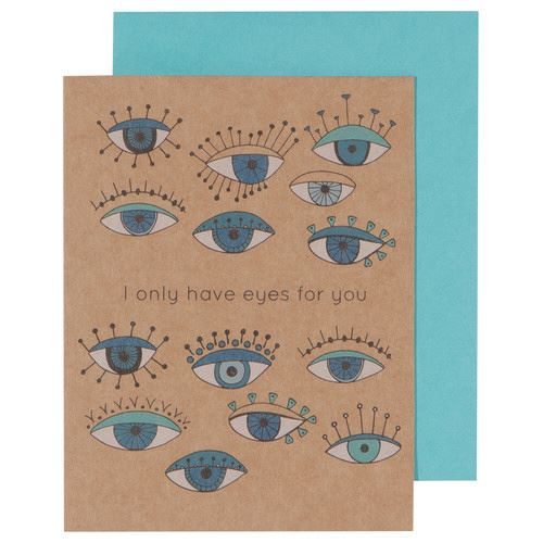 I Only Have Eyes For You Greeting Card-SproutSouth-Stationary