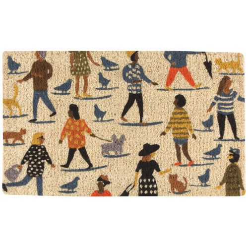 People Person Door Mat-SproutSouth-Home Goods