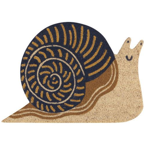 Snail Door Mat-SproutSouth-Home Goods