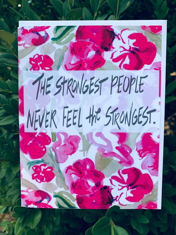 """Strong People"" Greeting Card Stationary B. Coyne"