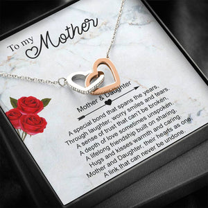 To My Mother Unbreakable Link Necklace