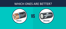 CR123 vs. CR123A Batteries: Which Ones Are better?