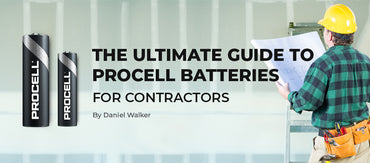Procell batteries for contractors