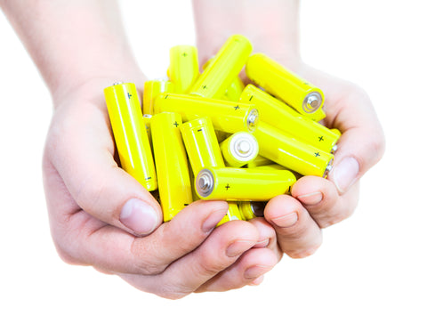 batteries on hand