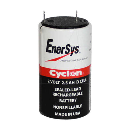 Cyclon 2V 2.5Ah Sealed Lead Tin D Cell