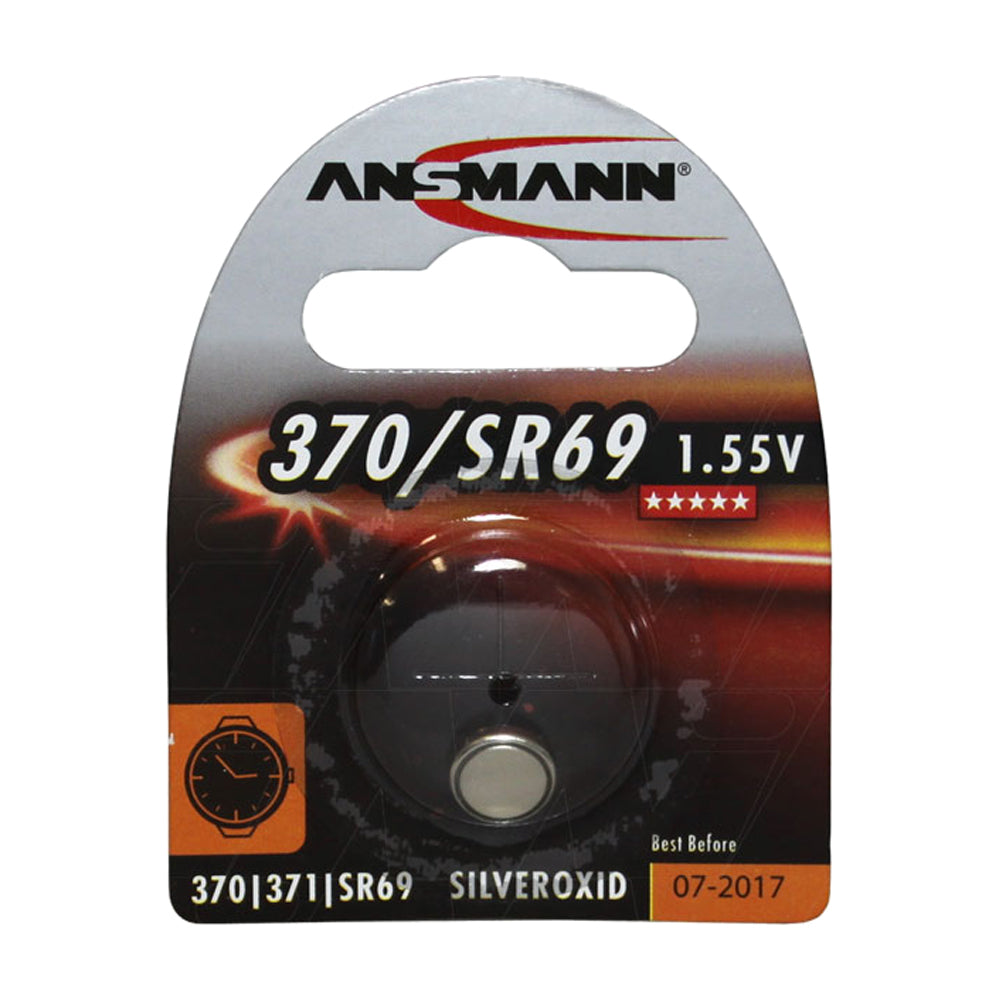 Ansmann SR69-370-371 Silver Oxide 1.55V 19mAh Watch Cell