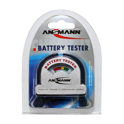 4000001 Ansmann Battery Tester for Primary & Rechargeable Batteries