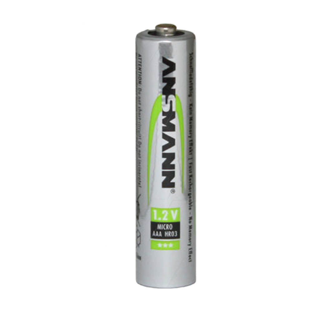 Ansmann AAA 1.2V 550mAh NiMH Raised Button Solar Batteries Bulk