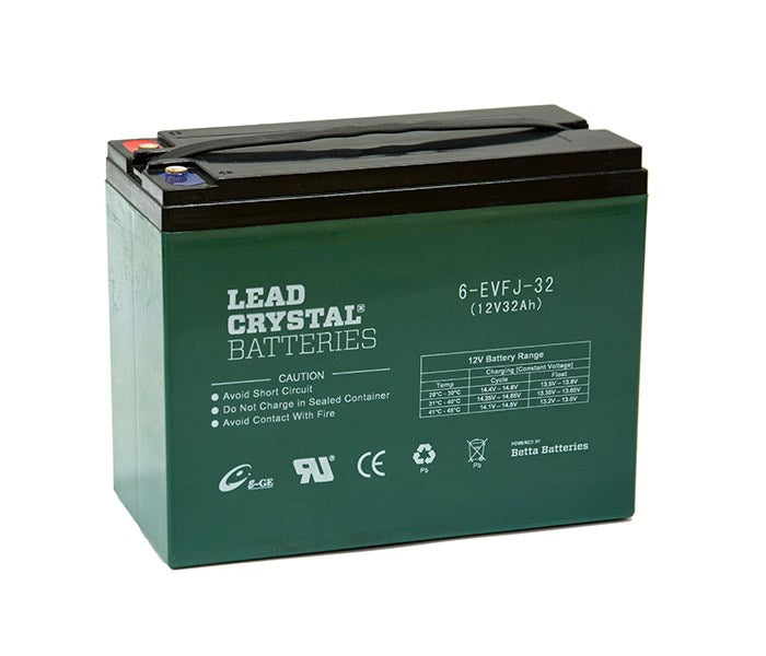 6-EVFJ-32 12V Ah Lead Crystal Deep Cycle Battery