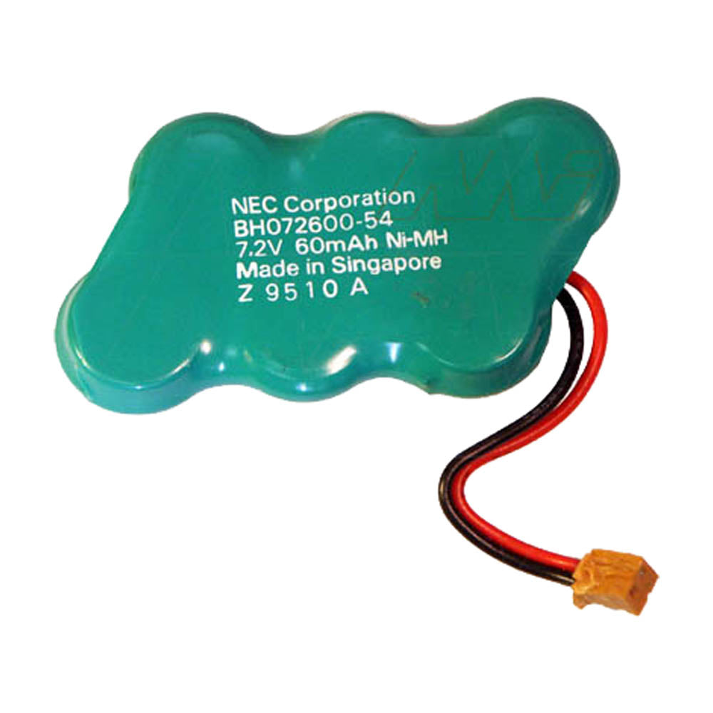 7.2V 80mAh NiMH MBU battery suit. for NEC