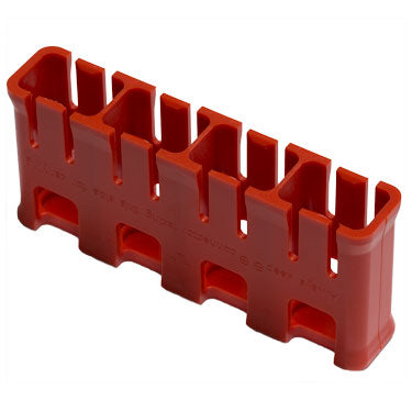Slimline 9V battery caddy-holder