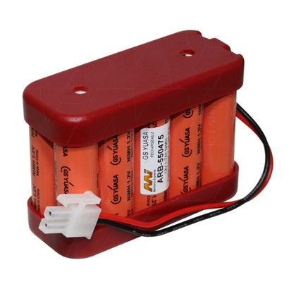 12V 1700mAh NiMH Auto Sliding Door battery