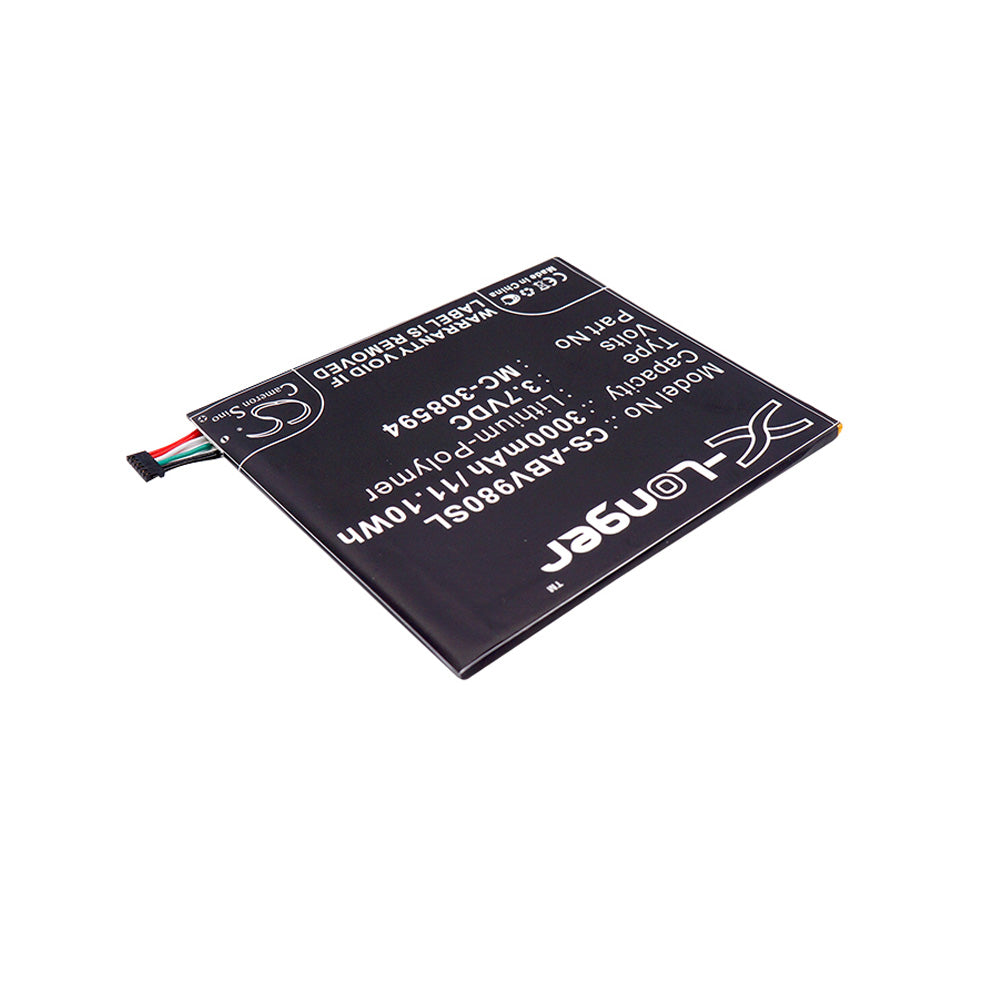 Stryka Battery to suit AMAZON Kindel Fire 7 Gen 5 3.7V 3000mAh Li-Pol