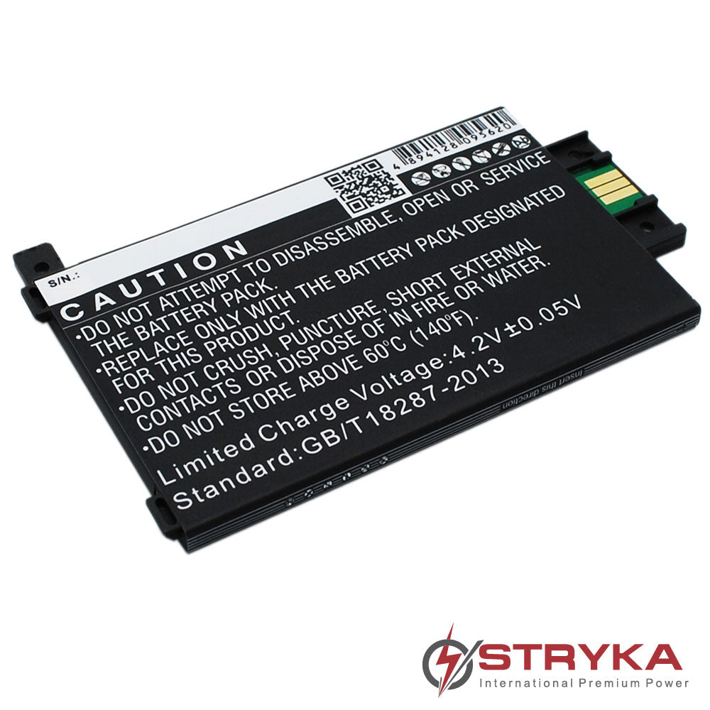 Battery to suit AMAZON Kindle Paperwhite 2nd Gen 3.7V 1600mAh Li-ion