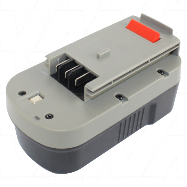 18V 3000mAh NiMH Black & Decker Power Tool Battery