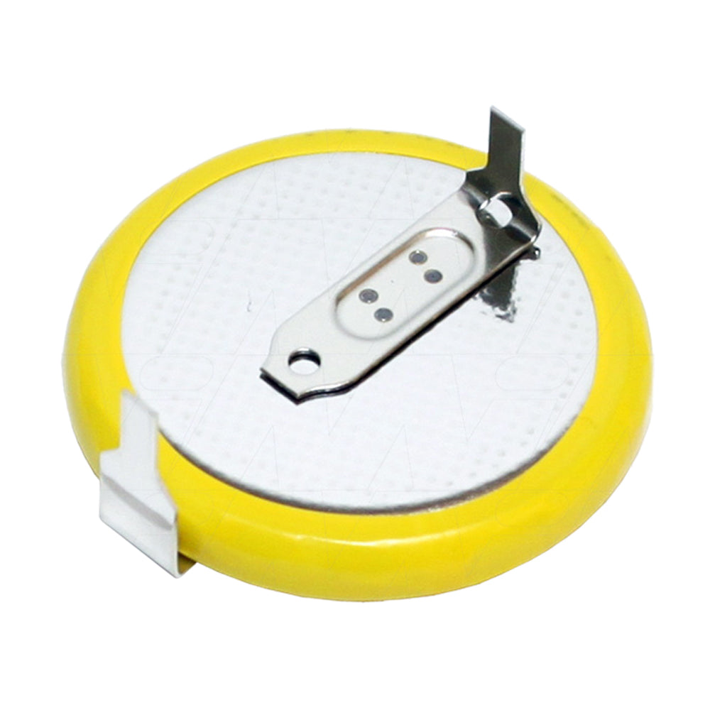 Lithium PCB S+S- 20.5mm 1.8mm tags Yellow Insulator