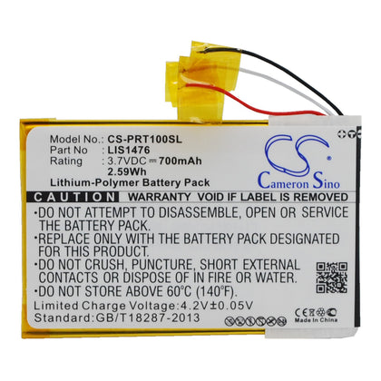 Stryka Battery to suit SONY LIS1476 3.7V 700mAh Li-Pol