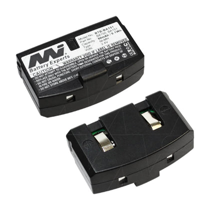 2.4V 60mAh NiMH battery suit. for Sennheiser