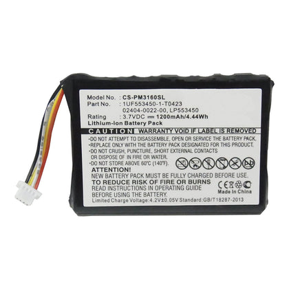 Battery to suit CISCO Flip 3rd 3.7V 1200mAh Li-ion - 4-6 Wks Delivery