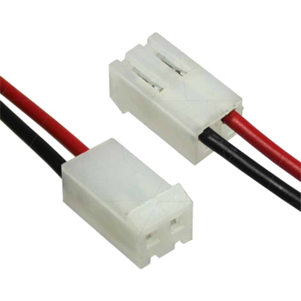 Molex Type 10-01-1024 2Way Male Connector (CE08-050-0108) Leads R&B=490mm 8.5mm Connector