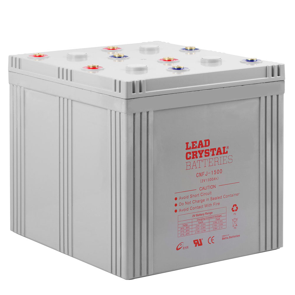 CNFJ-1500 2V 1500Ah Lead Crystal Deep Cycle Battery