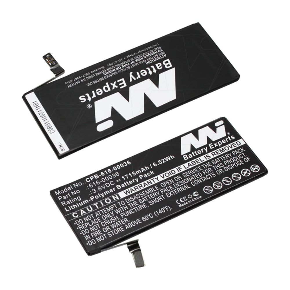 3.8V 1715mAh LiPo Mobile Phone battery