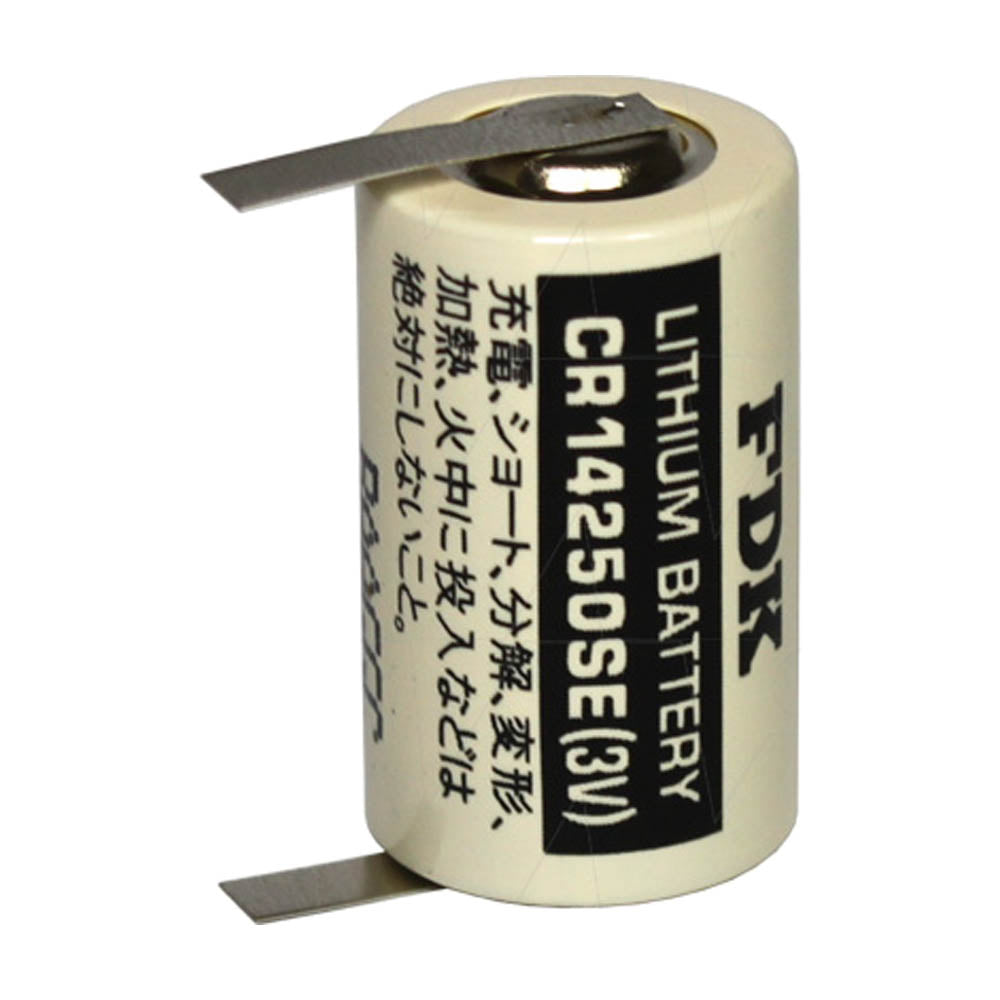 CR14250SE-T1 Industrial Lithium Battery with solder tags
