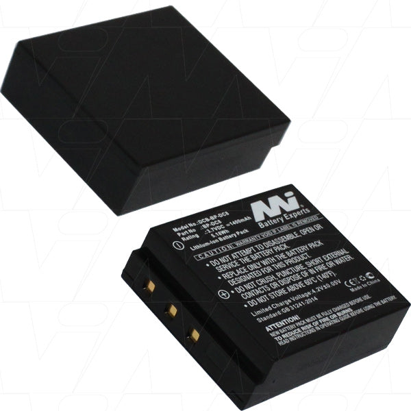3.7V 1400mAh Li-ion Digital Camera Battery Suitable for Leica X1