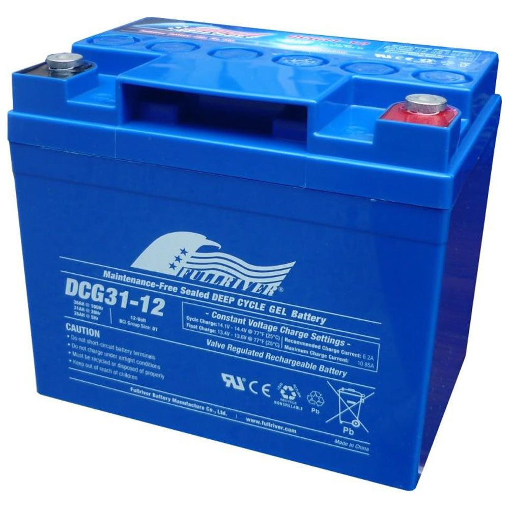Fullriver 12V 31Ah Deep Cycle Gel Battery