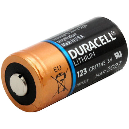 Duracell Ultra Lithium CR123A battery bulk