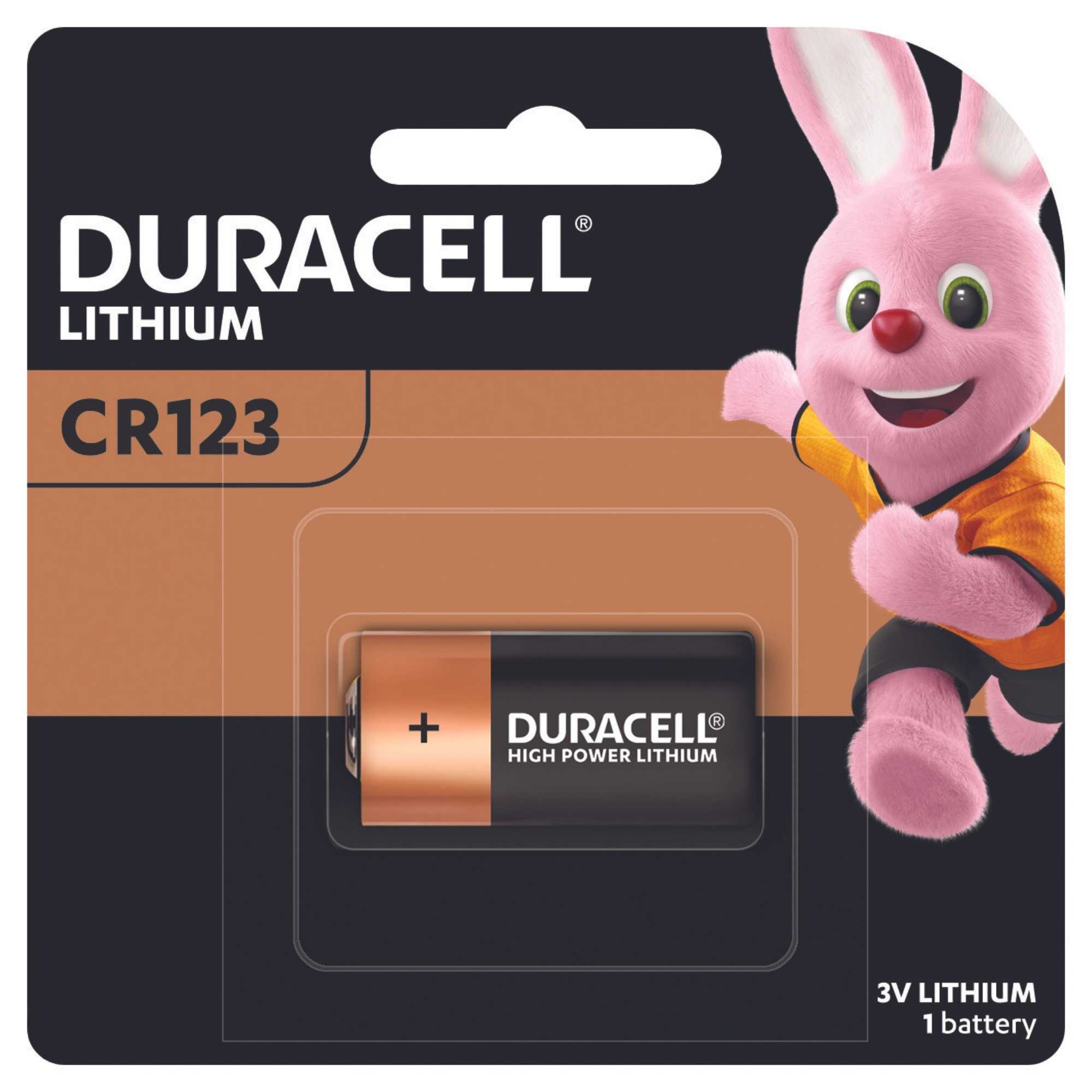 Duracell Ultra Lithium DL123A battery