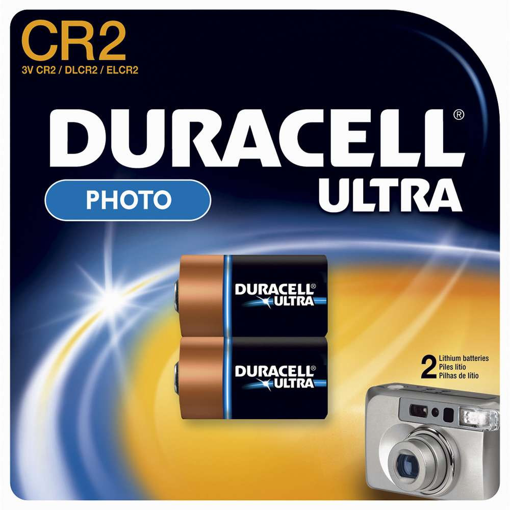 DURACELL ULTRA CR2 Lithium Battery 2 PK