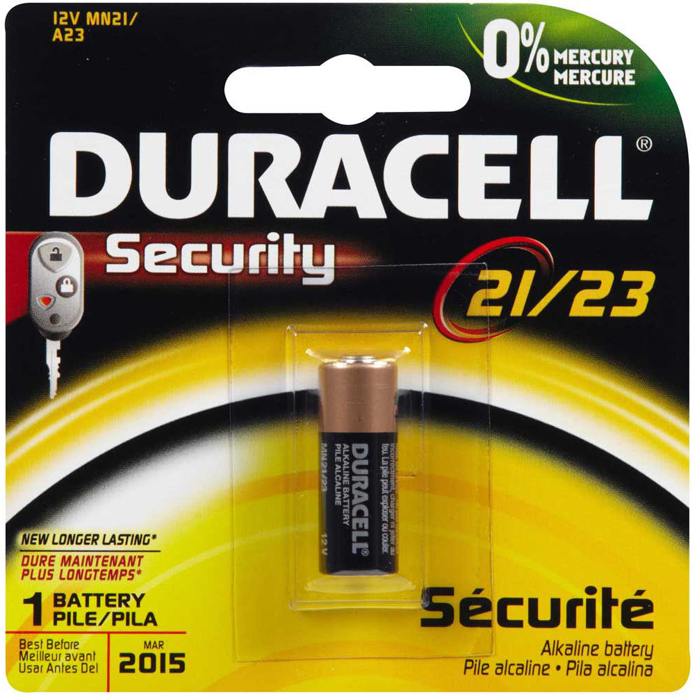 Duracell 21-23A 12V 1 Pack