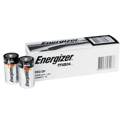 Energizer Max C Bulk battery box of 12