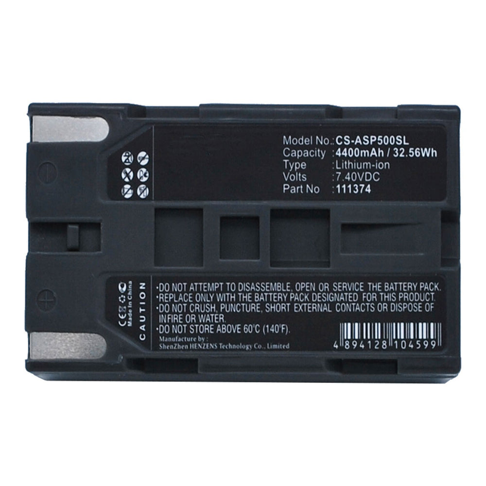Stryka Battery to suit ASHTECH ProMark 800 7.4V 4400mAh