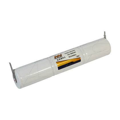 Emergency Lighting Battery Pack for White Lite 3xD cell column pack.