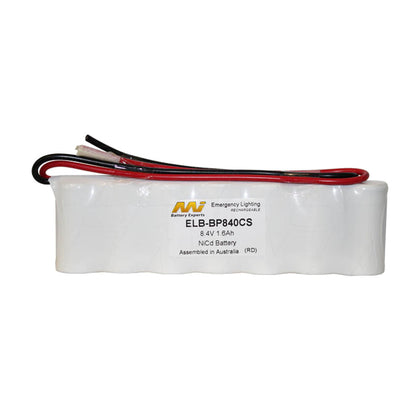 Emergency Lighting Battery Pack 7-SC flatpack