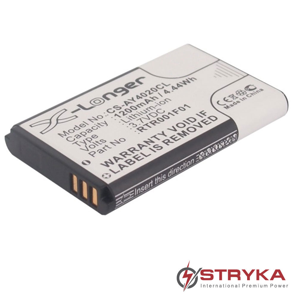 Stryka Battery to suit Alcatel 8232 DECT 3.7V 1200mAh Li-ion