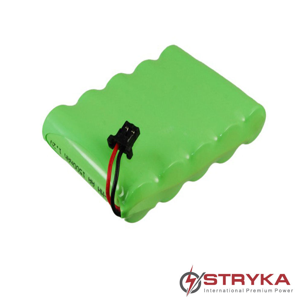 Stryka Battery to suit PANASONIC HHR-P516A 6.0V 1500mAh NiMH