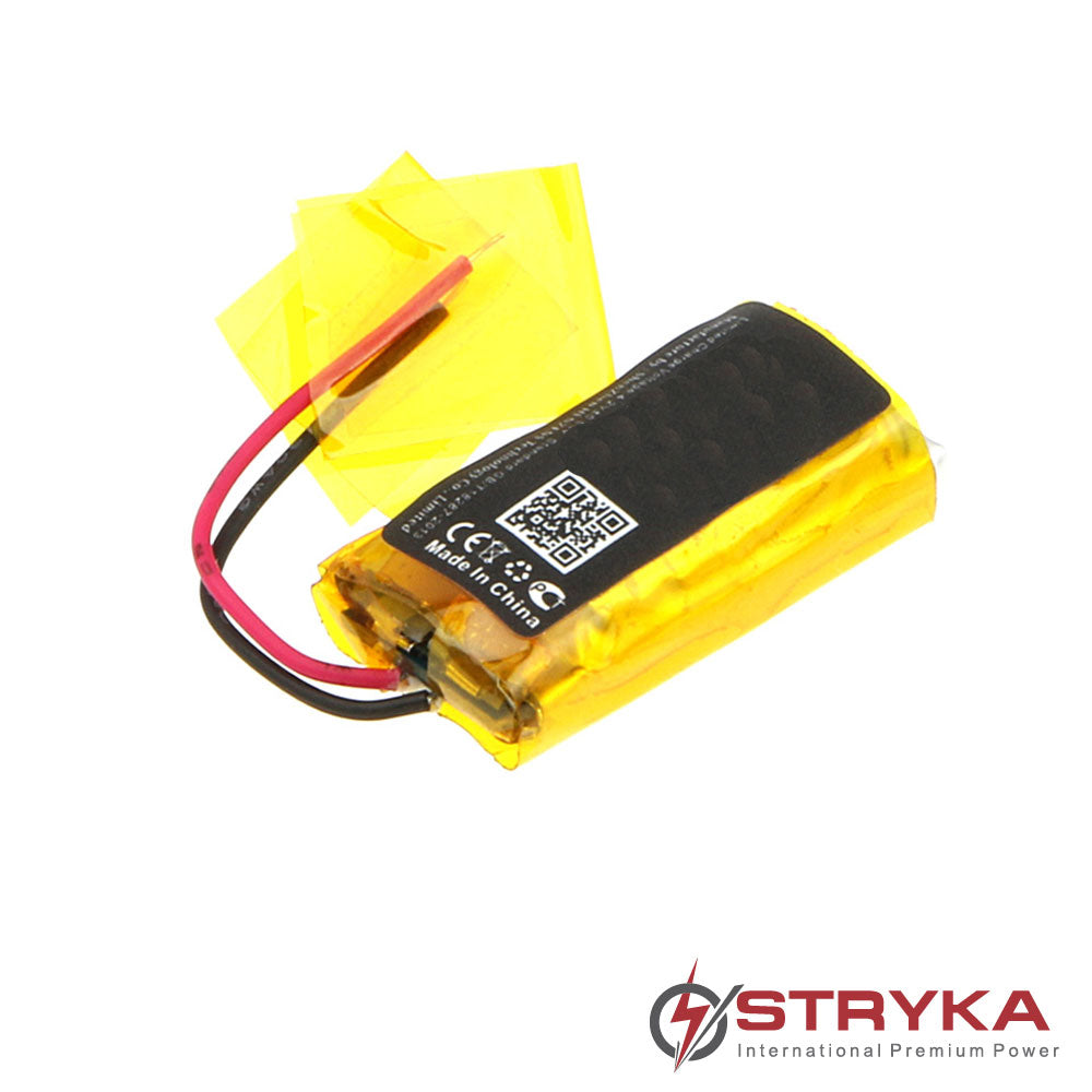 Stryka Battery to suit PLANTRONICS 66278-01 3.7V 140mAh Li-Pol