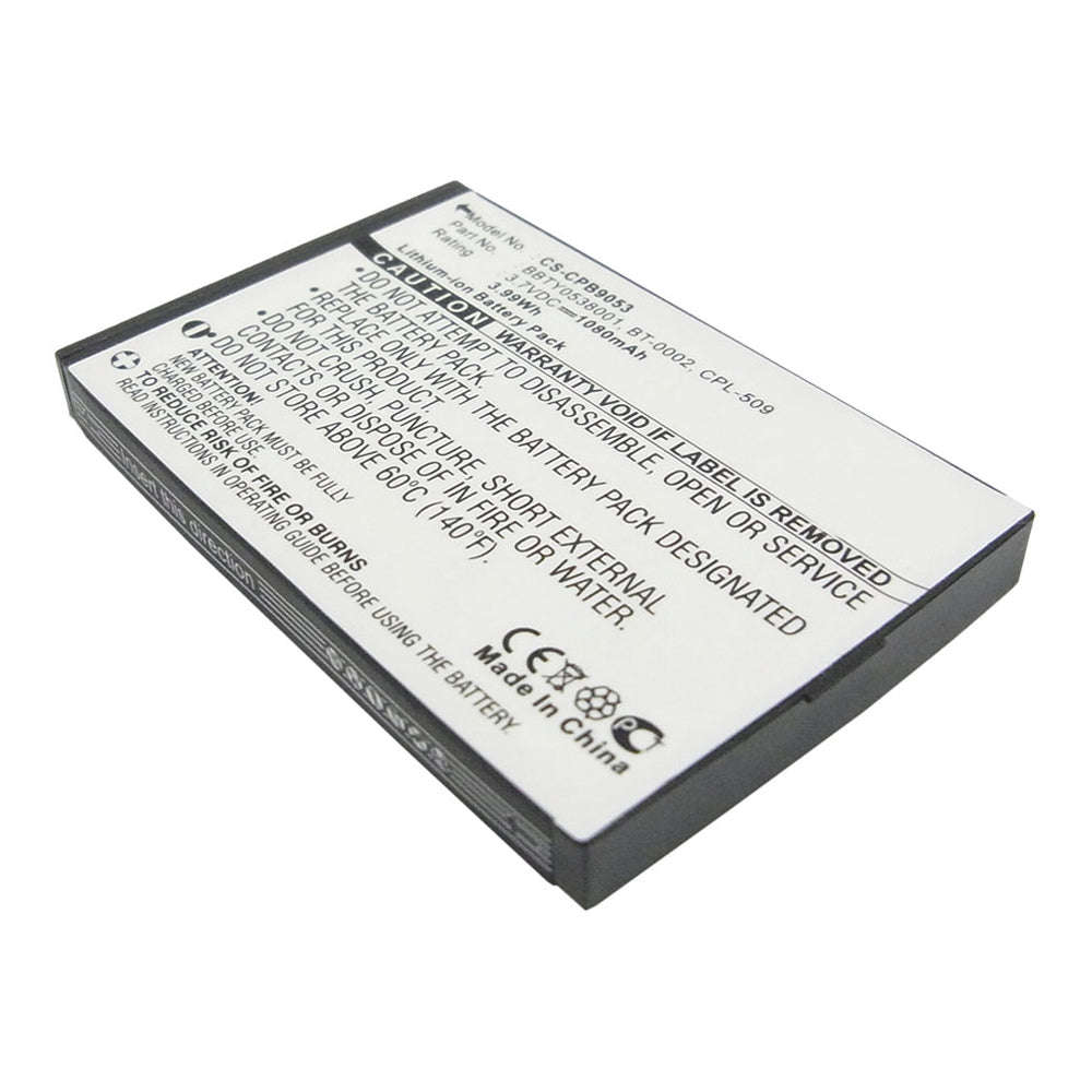 Battery to suit Uniden BT-0002 3.7V 1080mAh Li-ion