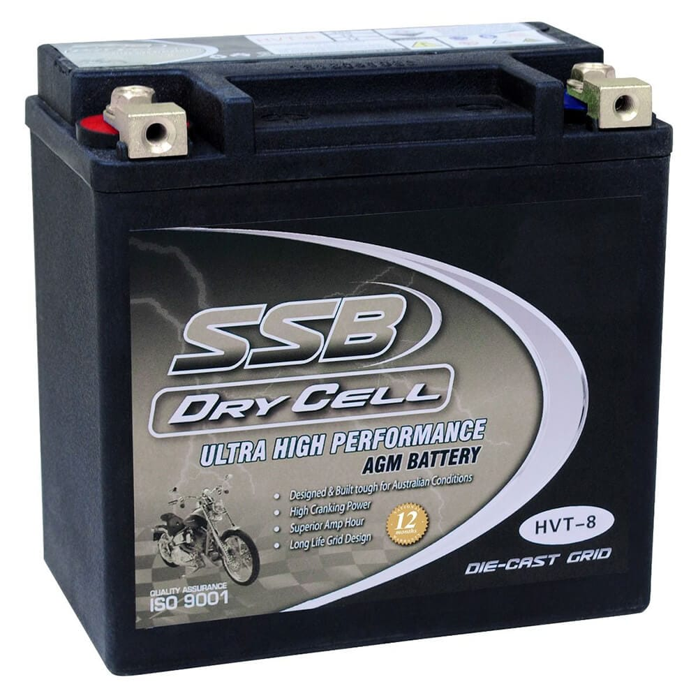 HVT-8 Ultra High Performance AGM Motorcycle Battery