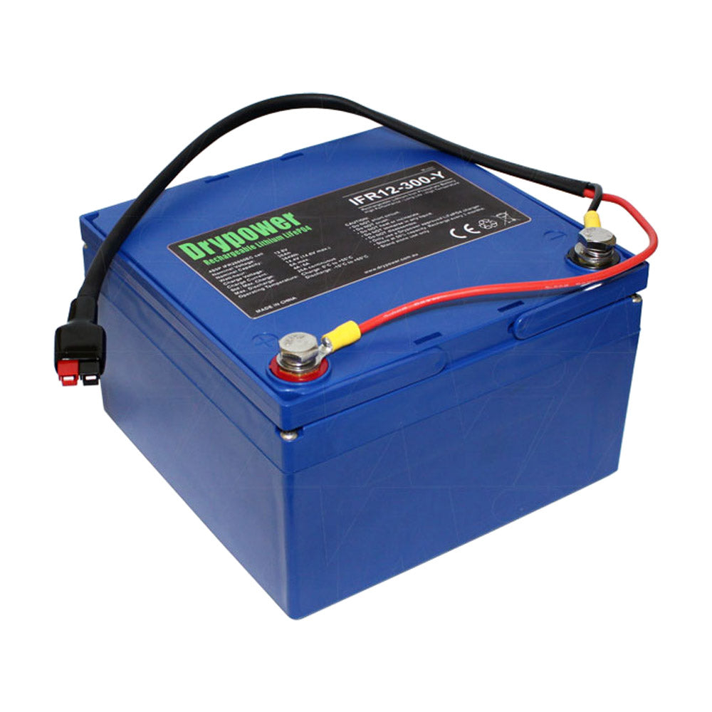 Drypower 12.8V 30Ah LiFePO4 Golf cart Battery